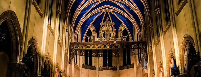 The Church of St. Mary the Virgin is one of USA NYC MAN Midtown West.