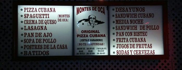 Montes de Oca is one of Little Havana's Gems.