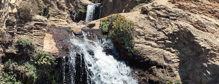 Alamere Falls is one of California.