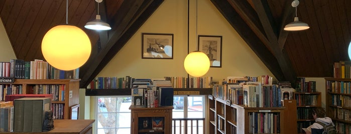 The Book Loft is one of Solvang, CA.