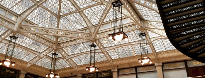 The Rookery Building is one of Chicago.