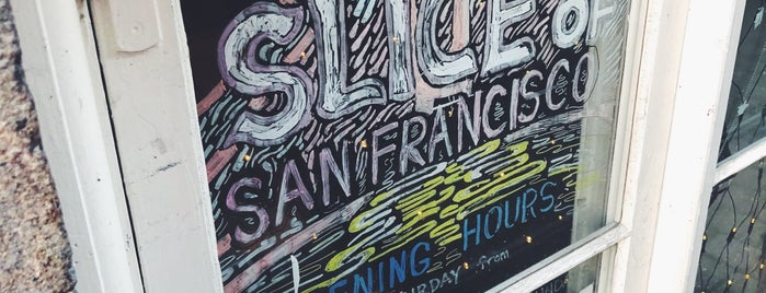 Slice of San Francisco is one of Lieux qui ont plu à Elena.