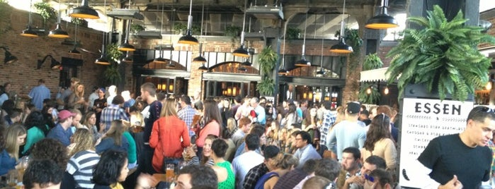 The Biergarten at The Standard is one of NYC Favourites.