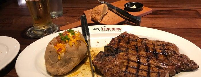 LongHorn Steakhouse is one of Cinci Work Food.