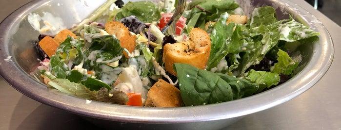 Salata is one of vegan friendly in atlanta ga.