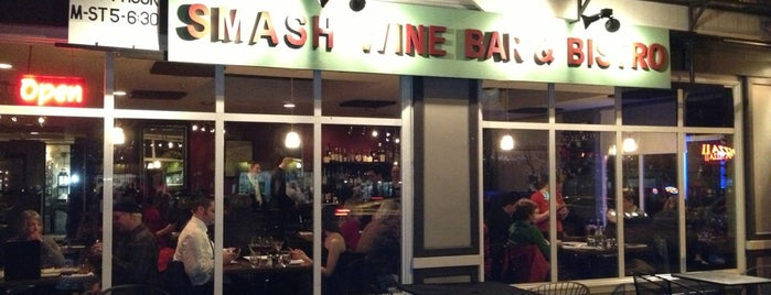 Smash Wine Bar & Bistro is one of Seattle Badge Quests.