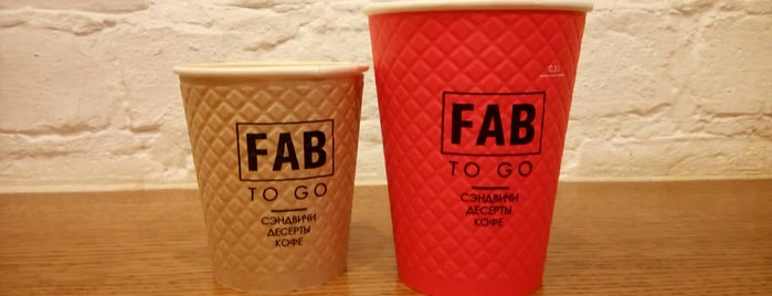 FAB to go is one of Lugares favoritos de Karinn.