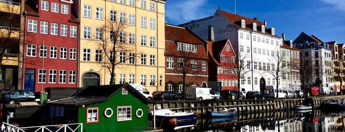 Ved kanalen på Christianshavn is one of Copenhagen.