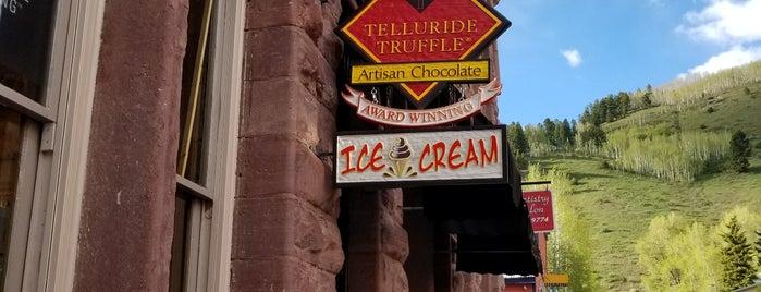 Telluride Truffle is one of Mountain Village.