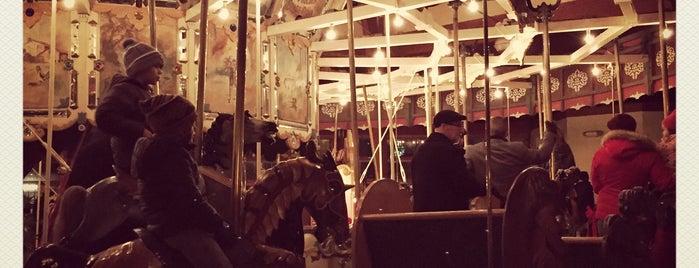 Herschell Spillman Co. Carousel is one of michigan.