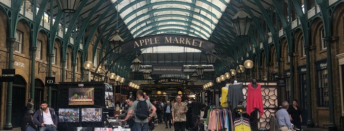 Covent Garden is one of ing.