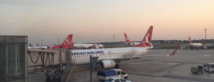 Estambul Aeropuerto Ataturk (ISL) is one of Lugares favoritos de Ibrahim.