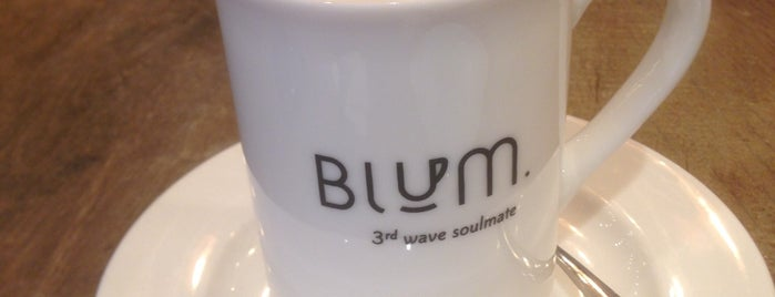 Blum Coffee House is one of สถานที่ที่ Ibrahim ถูกใจ.