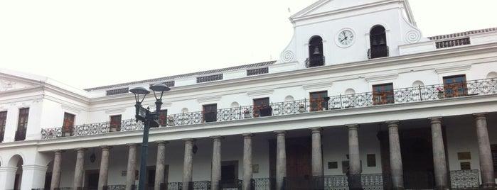 Palacio de Carondelet is one of Ecuador.