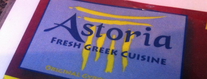 Astoria Fresh Greek Cuisine is one of Tempat yang Disukai Kristin.