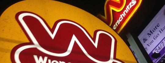 Wienerschnitzel is one of Hot Dogs.