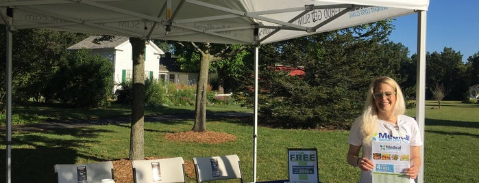 Meridian Township Farmer's Market is one of visitados.
