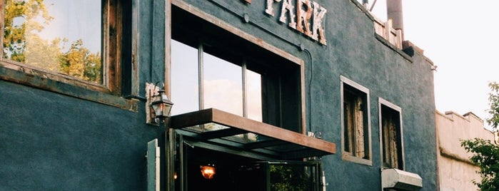Berry Park is one of nyc - outdoor wine/dine.