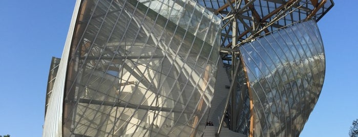 Fondation Louis Vuitton is one of ベスト美術館.