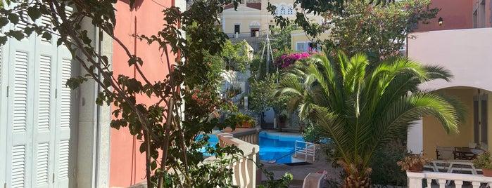 Villa Melina is one of Tempat yang Disukai Emre.