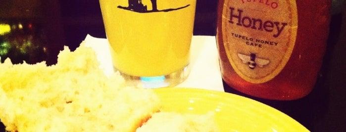 Tupelo Honey is one of Asheville.