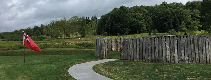 Fort Necessity and National Road Visitor Center is one of PA and WV.