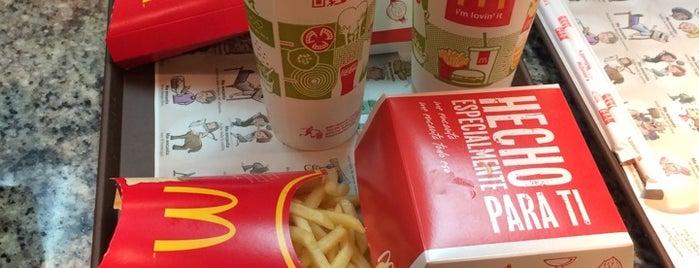 McDonald's is one of Mike : понравившиеся места.
