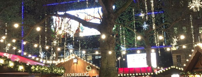 Christmas in Leicester Square Festival is one of London.