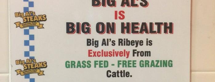 Big Al's Steaks is one of Kyle 님이 좋아한 장소.