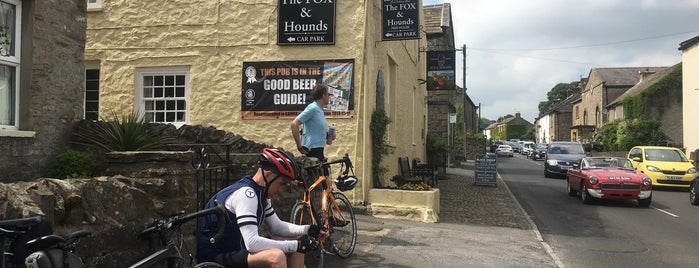 The Fox & Hounds is one of Welcome to Yorkshire Ale Trail.