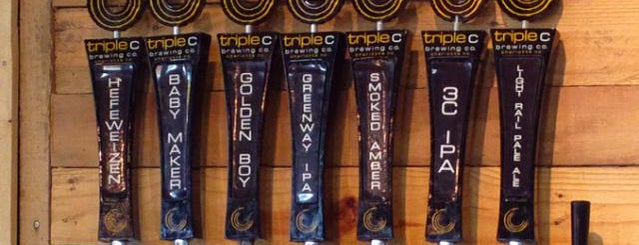 Triple C Brewing Company is one of NC Craft Breweries.