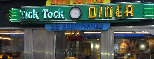 Tick Tock Diner is one of Places I have been to.