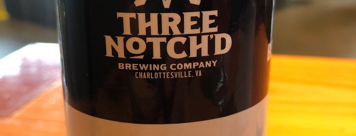 Three Notch'd Craft Kitchen & Brewery is one of Virginia.