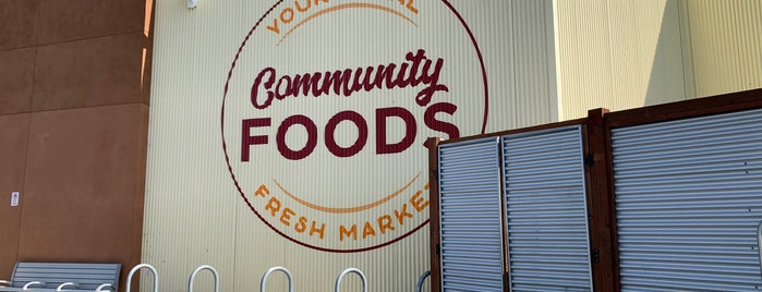 Community Foods is one of 🧱 Oakland.