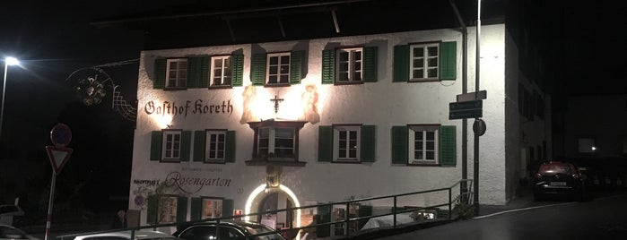 Ristorante Vinoteca Rosengarten is one of innsbruck food.