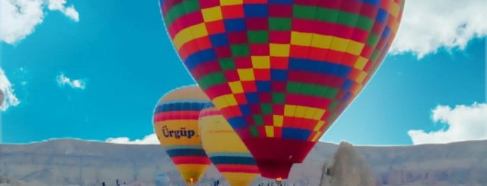Goreme Balloons  Take Off Area is one of Cappadocia.