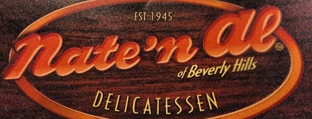 Nate 'n Al Delicatessen is one of Hidden Gems of Beverly Hills.