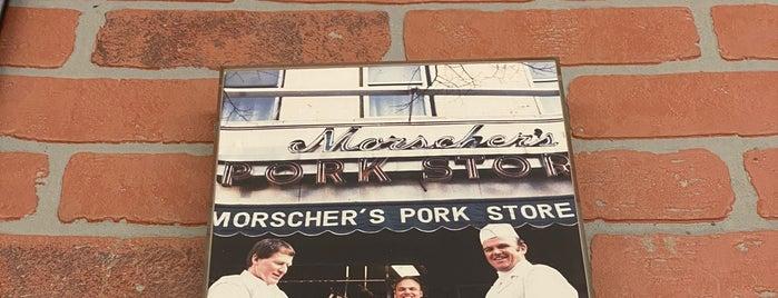 Morscher's Pork Store is one of bushtits.
