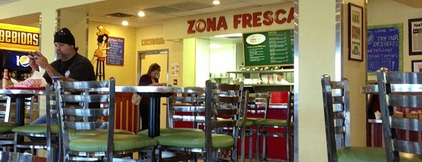 Zona Fresca is one of Restaurants.