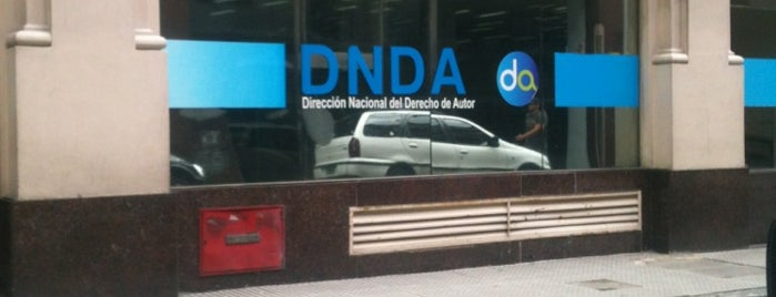 Direccion Nacional De Derechos de Autor is one of Lucia : понравившиеся места.
