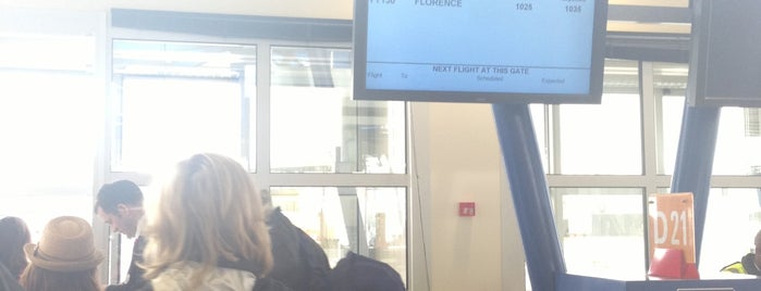 Gate D21 is one of Geneva (GVA) airport venues.