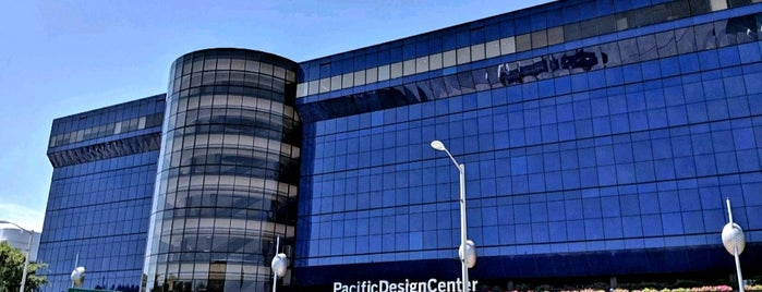 Pacific Design Center is one of Lonely Planet LA.