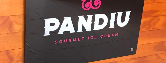 Pandiu-Helados gourmet is one of Oaxaca.