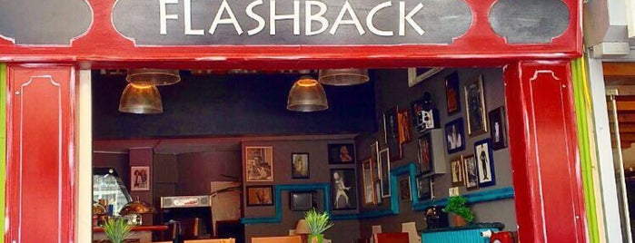 Flashback Cafe is one of Istanbul 2.