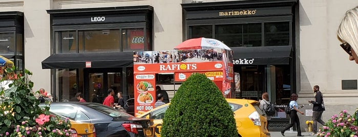 Rafiqi's Halal Food Truck is one of NYC Food on Wheels.