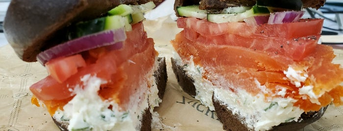 Zucker's Bagels & Smoked Fish is one of nyc - brunch..