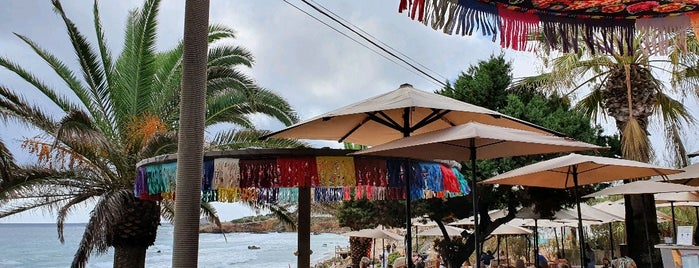 Aiyanna Beach Club is one of Ibiza.