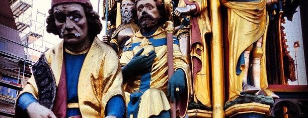 Schöner Brunnen is one of Nürnberg, Deutschland (Nuremberg, Germany).