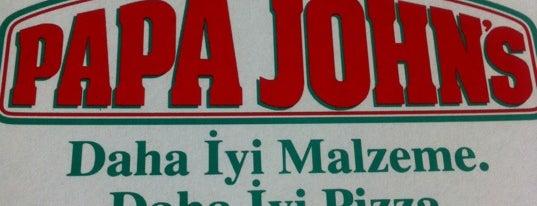Papa John's Pizza is one of Cem'in Beğendiği Mekanlar.