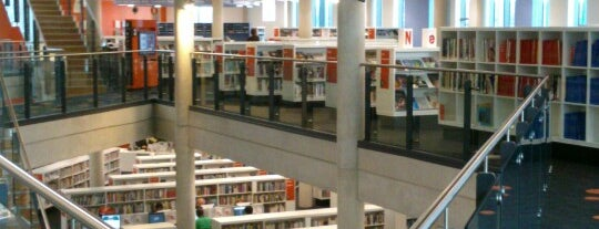 Cardiff Central Library is one of Local's Guide to Cardiff.